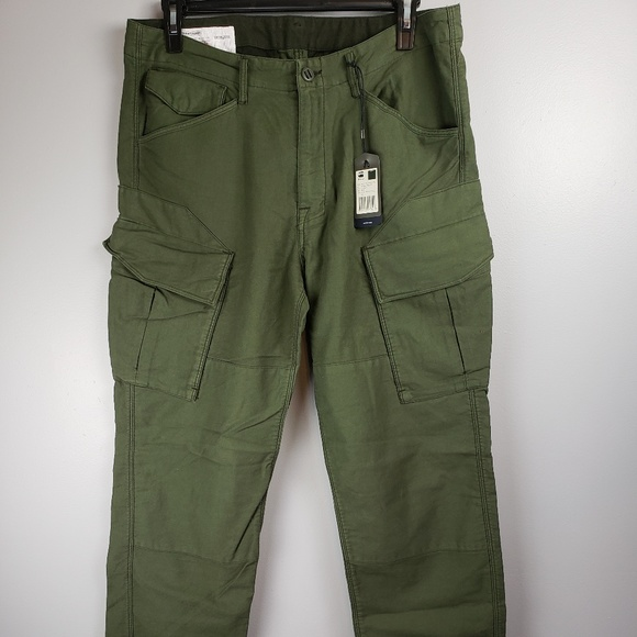 0c498c2e5f0 G-Star Pants | Gstar Raw Rovic Pound Loose Green Cargo 34 | Poshmark
